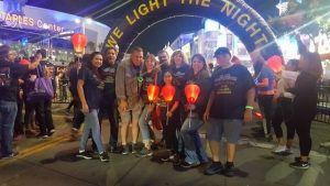DP Air's LA team at the Light the Night Walk