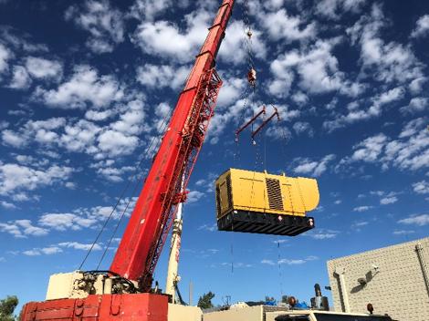 DP Air Project involving generator