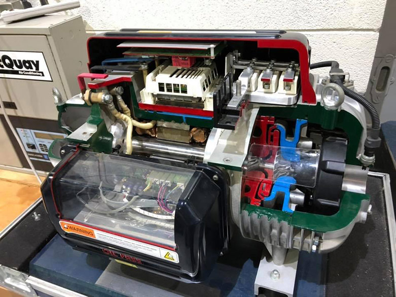 Daikin Oil Free Magnetic Bearing Compressor